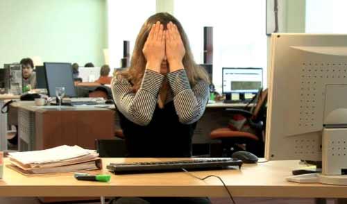 Gimnastika dlya glaz v ofise