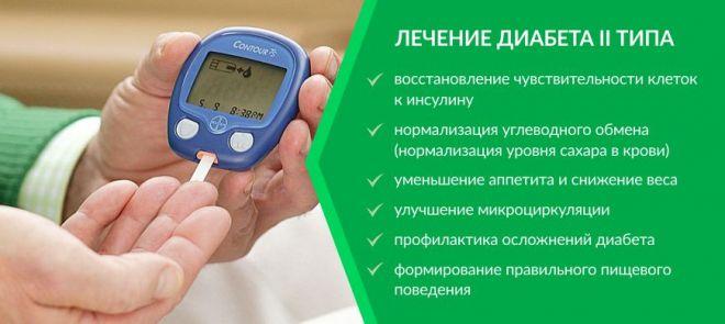 Lechenie saharnogo diabeta 2 tipa