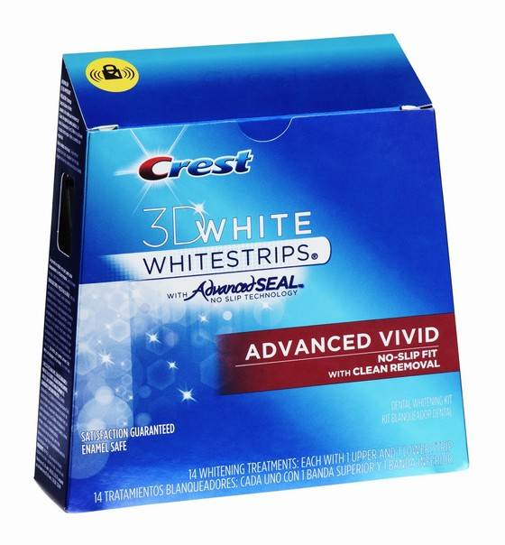 Crest Whitestrips 3D