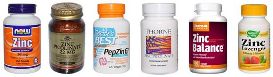 Какими препаратами можно поднять цинк